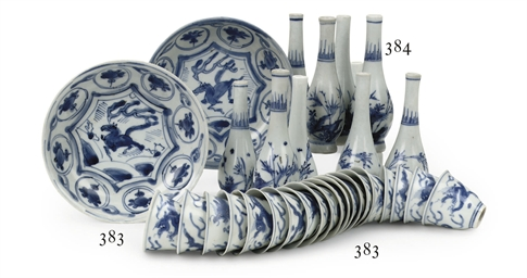 An associated set of ten Chine