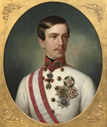 Portrait of Emperor Franz Jose