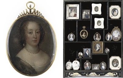 Portrait of a lady with pearl