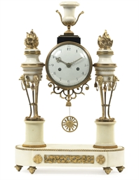 A FRENCH ORMOLU-MOUNTED WHITE