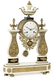 A DIRECTOIRE ORMOLU-MOUNTED WH