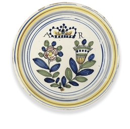 A LONDON DELFT POLYCHROME UNIO