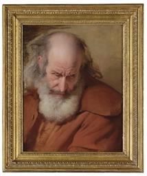 Study of the head of John Stav
