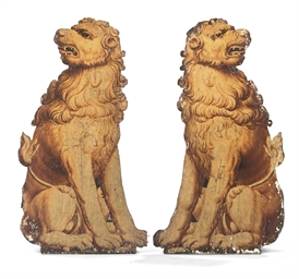 A PAIR OF WILLIAM III POLYCHRO