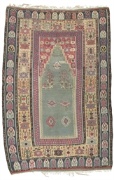 AN OBRUK PRAYER KILIM