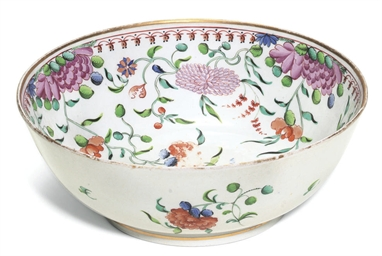 A NEW HALL LARGE BOWL