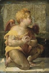 Un ange en prière