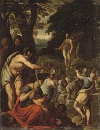 Saint Jean-Baptiste prêchant d