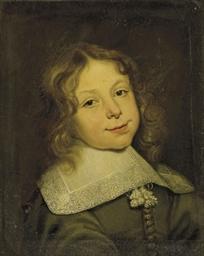 Portrait d'un jeune garçon au