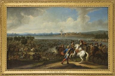 Le passage du Rhin par Louis X