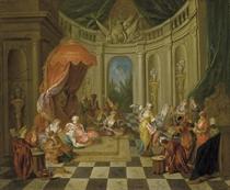 Le sultan au harem