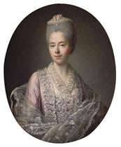 Portrait de Guillemette Moulin de la Racinière, Madame d'Angot