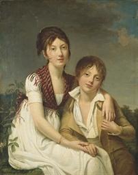 Portrait d'Amélie-Justine et d