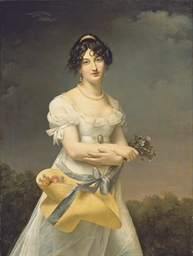 Portrait d'Amélie-Justine Laid