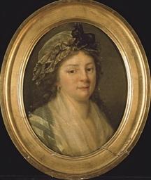 Portrait de Justine-Louise Mer