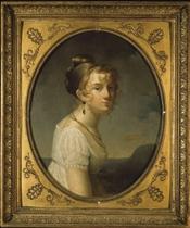 Portrait of Amélie-Justine Pontois
