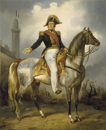 Louis-Philippe devant la colon