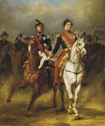 Louis-Philippe et le duc d'Orl