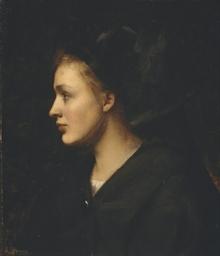 Portrait d'une alsacienne