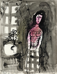 Femme à la fenêtre