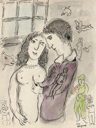 Les amoureux à la fenêtre