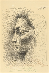 Portrait de Jacqueline