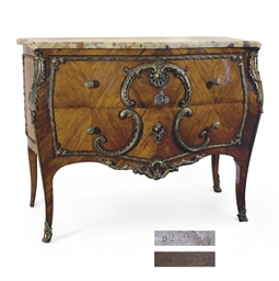 COMMODE ROYALE D'EPOQUE LOUIS