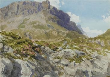 View of an Alpine landscape