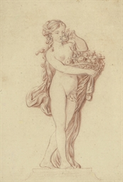 Study of a young woman bearing