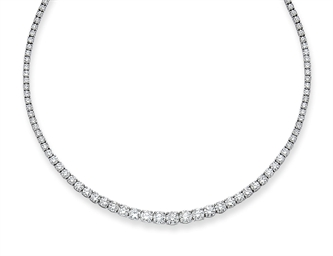 COLLIER RIVIERE DIAMANTS