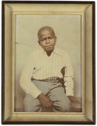 James Brown Childhood Photograph