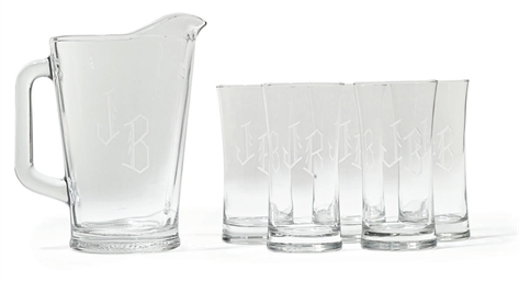 JB Pitcher and Glasses