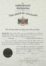 James Brown Certificate