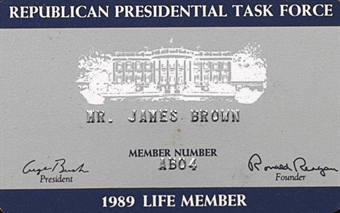 Republican Presidential Task Force Card