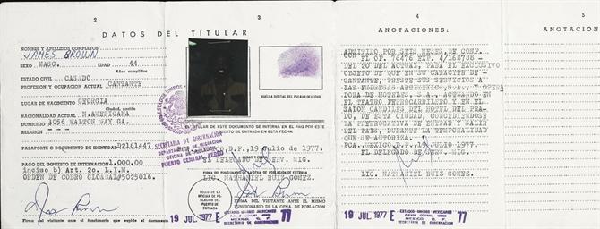 Signed Visa
