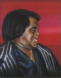 James Brown Pastel