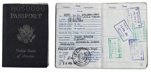 James Brown Passport