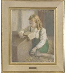Fiona reading