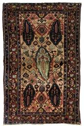 A unusual Bakhtiari rug