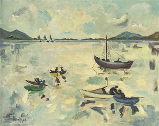Boats and fishermen