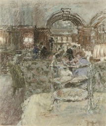 The cake stand, Browns
