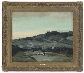 View of Ilkley, Wharfedale, Yo