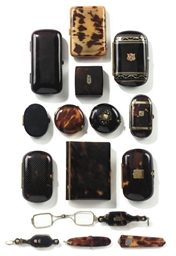 A COLLECTION OF TORTOISESHELL