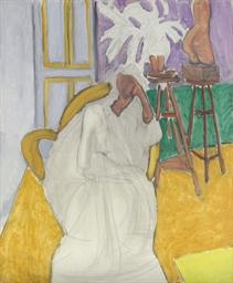 Figure assise et le torse grec