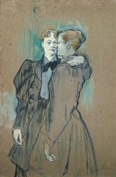 Deux femmes valsant
