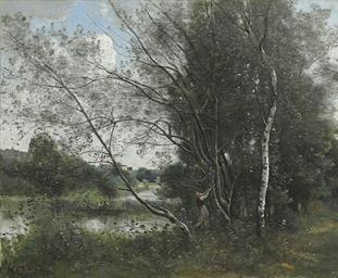 Ville-d'Avray, l'étang à l'arb
