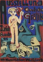 Ausstellung Deutsche Grafik im