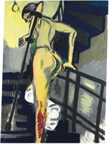 Wendeltreppe gelb