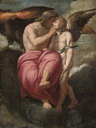 Jupiter and Cupid