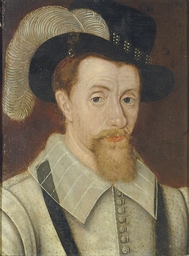 Portrait of King James I (1603